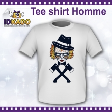 Tee-shirt Homme TETE DE CLOWN