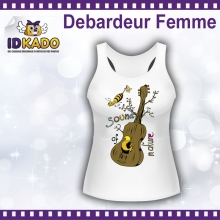 Tee-shirt Femme Débardeur SOUND OF NATURE