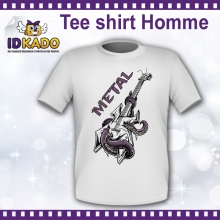 Tee-shirt Homme METAL