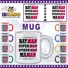 Mug (Tasse) Maman Superman...