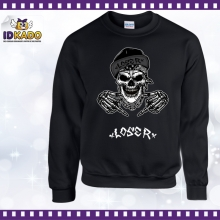 Sweat shirt TETE DE MORT LOSER