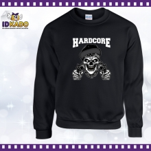 Sweat shirt TETE DE MORT HARDCORE