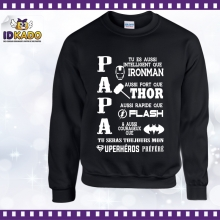 Sweat shirt PAPA SUPERHEROS