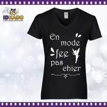 Tee-shirt coton EN MODE FEE PAS CHIER