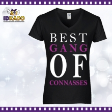 Tee-shirt coton BEST GANG OF CONNASSES