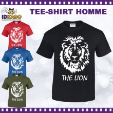 Tee-shirt coton THE LION