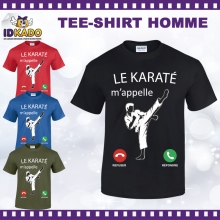 Tee-shirt coton LE KARATE M'APPELLE