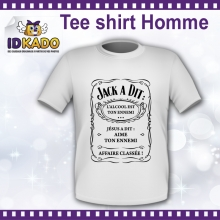 Tee-shirt Homme Jack a dit