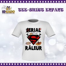 Tee-shirt Enfant SERIAL RALEUR